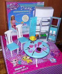 Кукольная мебель Глория Gloria 2812 Современная столовая Более 1200 отзывов