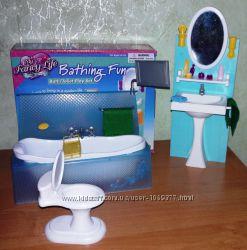 Кукольная мебель Глория Gloria 2820 Ванная Леди Более 1200 отзывов