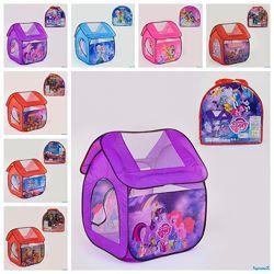 Палатка детская игровая 8009 Пони Холодное сердце Принцесса Отзывы