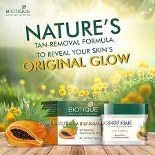 Скраб для лица Биотик Био Папайя для всех типов кожи Biotique Bio papaya