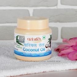 Натуральное кокосовое масло, 200 мл. Производитель Патанджали