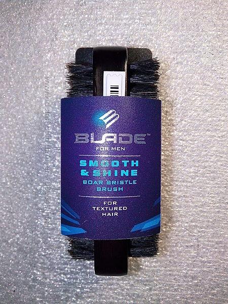 2 -х сторонняя щетка для волос с натуральной щетиной  Blade США