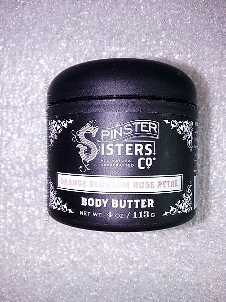 органическое масло крем для сухой кожи Spinster Sisters США