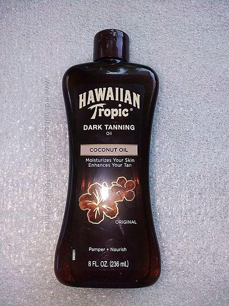 масло ускоритель загара Hawaiian  Tropic США