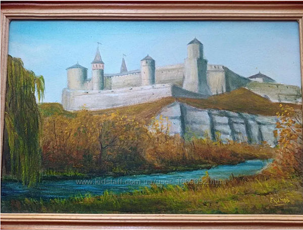 Картина  масляные  краски