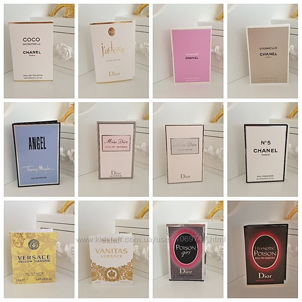 Пробники духи парфюмы