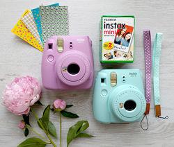 Фотоаппарат FUJIFILM Instax mini 8 9  10 кадров polaroid палароид детсткий