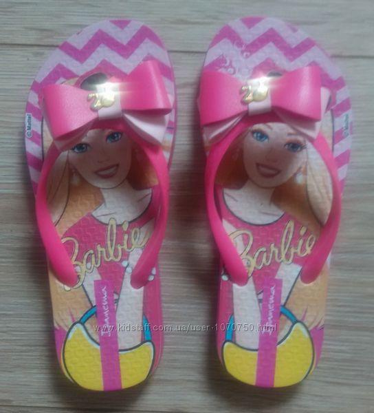 Вьетнамки Ipanema Barbie , р. 278, по стельке 18, 5 с