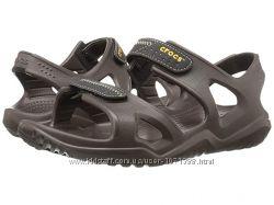 Crocs Swiftwater River Sandal  коричн