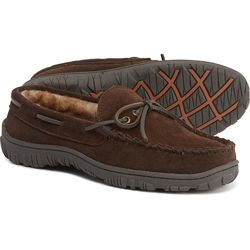 Clarks Laced Suede Moccasins