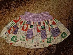 Красивая нарядная фирменная пышная юбка-пачка