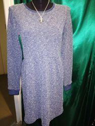 Нарядное фирменное платье на праздник корпоратив Новый год S-M 8-10 р