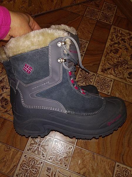 Зимние термо ботинки columbia sportswear omni-heat 25-25, 5 см 38-39 р