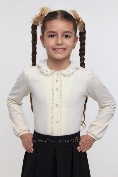 Блузка с натуральным кружевом SMIL 114515