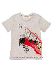 Футболка для мальчика Breeze Дельтаплан серая 12366