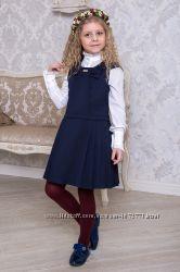 Сарафан школьный Suzie Мадлен  СН-81 черный и синий