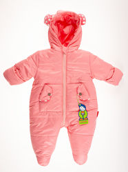Комбинезон зимний Одягайко розовый 32029