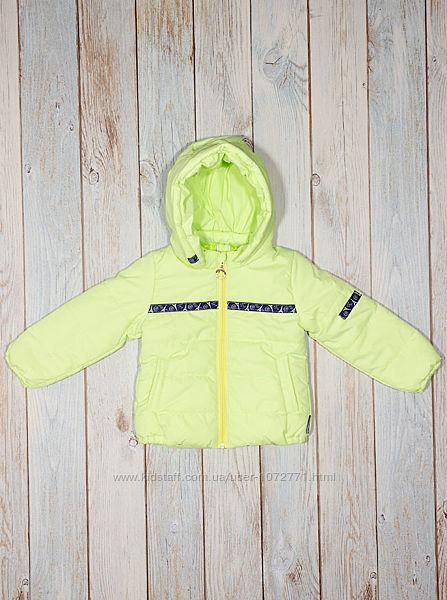 Куртка для девочки Одягайко салатовая 22197