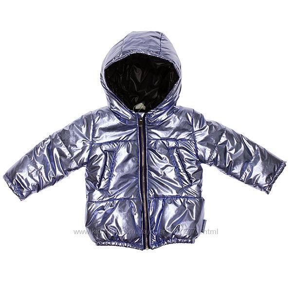 Куртка для девочки Одягайко металлик 22340