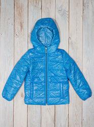 Демисезонная куртка для девочки 22087 голубая