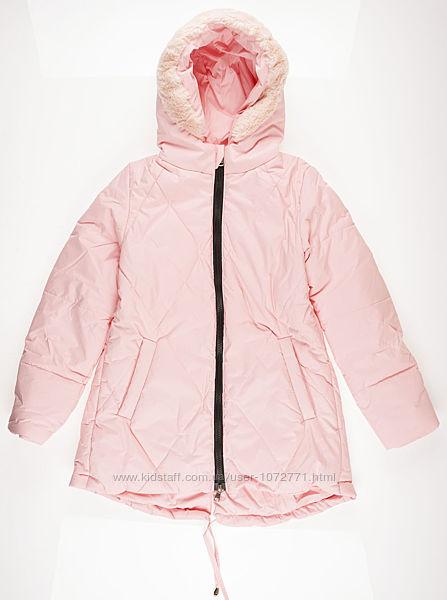 Куртка удлиненная для девочки ОДЯГАЙКО 22101