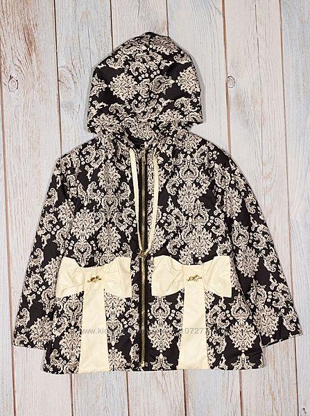 Куртка для девочки ОДЯГАЙКО черная 2658