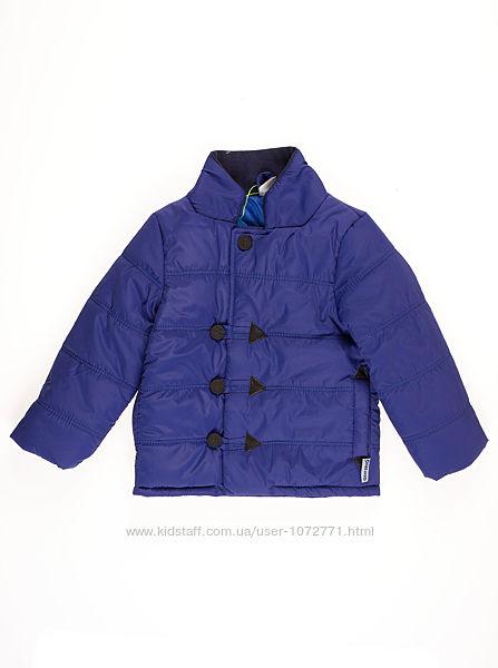 Куртка для мальчика ОДЯГАЙКО синяя 22111