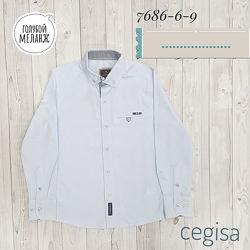 Рубашка для мальчика Cegisa голубая 7686