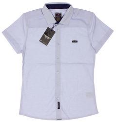 Рубашка для мальчика Cegisa голубая 7652