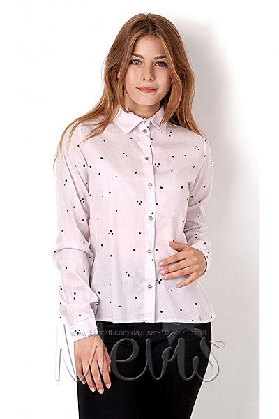 Рубашка для девочки Mevis 2898 - 3 цвета