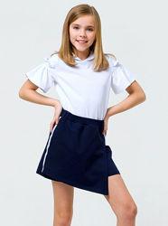 Трикотажная юбка-шорты для девочки SMIL 120287