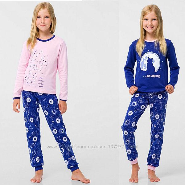 Пижамы Smil для девочек со светящимся рисунком