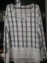 Блузка кофта большой размер