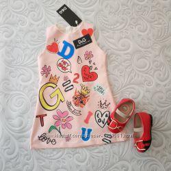 ed1cde9d9d1 Яркое платье Dolce Gabbana