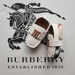 Пинетки мокасины Burberry