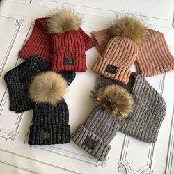 Детская шапка и шарф Gucci, набор, комплект