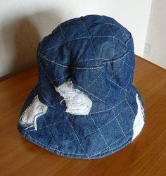 панамка джинсовая 53-54 размер, шляпка