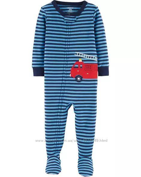 Человечек пижама слип Carters 12М, 72-76 см Картерс хлопковый
