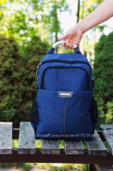 Рюкзак для  работы и путешествий, школы с USB 4 цвета