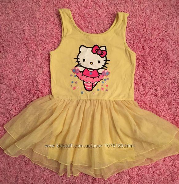 Платье-комбинезон Hello Kitty, на 5-6 лет