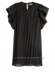 Платье H&M , 36 размер, с рукавами крылышками