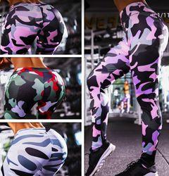 Спортивные легинсы лосины женские штаны для спорта бега фитнеса компрессион