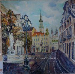 картина Львівський ліхтар60х60