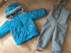 Lenne 98 зима комбез костюм комплект комбинезон  подарок