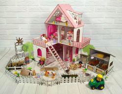 Солнечная Дача с Фермой, обоями, шторками, мебелью и текстилем