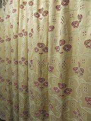 Шторы на подкладке с ажурной вышивкой 2, 76 х 2, 26 м