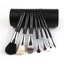 Набор кистей для макияжа в тубусе ZOREYA Makeup Brush Set - 7 pc