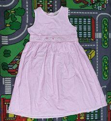 Лето Нарядное нежное легкое платье Cherokee клетка   Миленькое платье. Выг