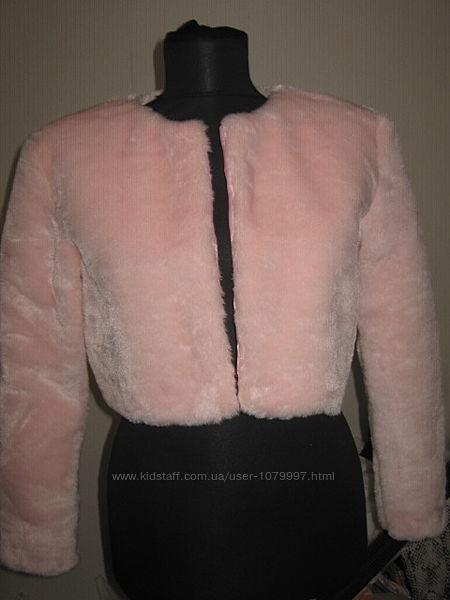 новая розовая шубка искусственный мех
