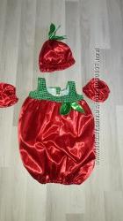 Карнавальный костюм Яблоко. Размер 5-6 лет